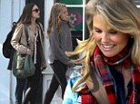 They could be sisters! Christie Brinkley the model mom treats her gorgeous daughters to a shopping spree