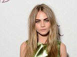 Contenders: Cara Delevingne (pictured at the award ceremony last year) is up for British Model of the Year, while Victoria Beckham has been nominated for two gongs