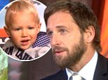 Working dad Josh Lucas brings his baby for live television appearance after his babysitter 'did not show up'