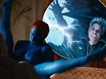 A Storm is coming! Halle Berry in lightning form in X-Men: Days of Future Past trailer, while blue Jennifer Lawrence shows off her action moves