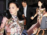 Hilaria Baldwin is retro chic in floral frock at star-studded Dolce and Gabbana art walk with husband Alec