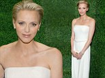Princess Charlene Of Monaco is stunning in white jumpsuit at screening of late mother-in-law Grace Kelly's movie To Catch A Thief