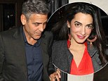 grorge clooney mystery woman