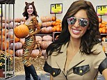 Searching Farrah and wide! Teen Mom star Abraham goes from tiger to hot cop in attempt to find sexy Halloween costume