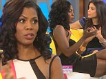 'It's different for you and I': Omarosa attributes 'mediocre' Bethenny Frankel's success to white privilege as old rivals spar on chat show
