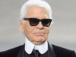 Outspoken designer Karl Lagerfeld, pictured, also blamed 'fat people' and their illnesses for France's public health deficit
