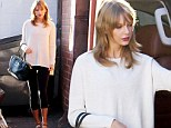 Getting ready for something? Taylor Swift hits the gym yet AGAIN as she's nominated for eight American Country Awards