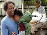 Conrad Murray reunites with son after serving two years in jail for death of Michael Jackson... but only after indulging in a burger at In-N-Out