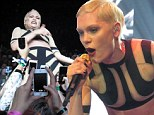 ¿Mum and Dad I did it!¿ Jessie J brings crowd surfing and costume changes to London as her tour hits her hometown