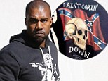 His most controversial move yet? Kanye West sells confederate flag merchandise at Yeezus pop-up shop next door to Kim Kardashian¿s boutique