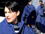 On another planet! Anne Hathaway and Matthew McConaughey don futuristic suits as they shoot new movie Interstellar