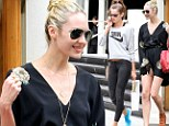 Ready for them, Brazil? Victoria's Secret models Candice Swanepoel and Izabel Goulart hit Sao Paulo for Fashion Week