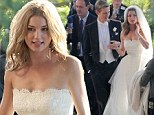 Spoiler alert! Revenge's Emily Thorne makes it to the altar... but will her takedown of the Graysons come off without a hitch?