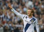 He's baaaaack: David Beckham, who signed a monster contract with the LA Galaxy in 2007, is returning to the U.S. to found a new soccer franchise