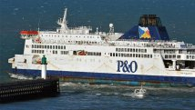 Storm strands two ferries at sea off Dover