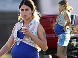 Wow that was quick! Nikki Reed shows off her very pregnant belly... but it is only for her movie
