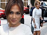 Jennifer Lopez sizzles in fitted white frock on last day of American Idol auditions