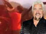 Captured on video: Food Network star Guy Fieri in heated brawl with his hairdresser