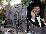 Jonathan Ross' home gets transformed into spooky castle ahead of biggest celeb-packed Halloween party of the year