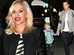 What a stylish family! Pregnant Gwen Stefani celebrates husband Gavin Rossdale's 48th birthday with their boys