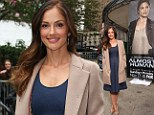 Chris who? Glowing Minka Kelly puts split with Captain America star Evans behind her as she promotes new TV show in New York
