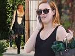 Rumer Willis steps out in Los Angeles on Tuesday