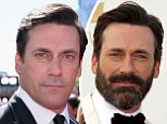 That's why Don Draper looks so smooth! Mad Men star Jon Hamm gets a clean shave up to THREE times a day on set