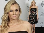 Diane Kruger attends Chanel's Little Black Jacket exhibition launch in Sao Paolo