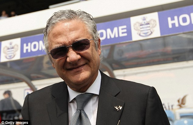 Deal maker: Former QPR chief executive has reportedly been in talks to buy Birmingham