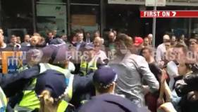 Student protest turns violent