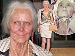 'Here I go into the future!' Heidi Klum turns into a wrinkled old lady with Oscar-winning make-up artist for her Halloween bash
