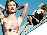 Showing her promiscuous side: Kate Bosworth revealed how she just dived into her nude scene first while filming Big Sur, as she covers the November issue of Los Angeles Confidential magazine