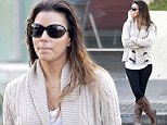Wet hair, don't care! Eva Longoria didn't bother blow drying her tresses as she grabbed some breakfast in Beverly Hills, California on Wednesday