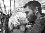 Confirmed with a kiss: Chad Michael Murray revealed he and co-star Nicky Whelan are dating on Twitter on Wednesday
