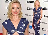 Golden age glamour: Naomi Watts is the ultimate screen siren at New York premiere of film Diana