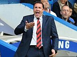 Controversy: There has been huge upheaval at Cardiff after Mackay's assitant was put on gardening leave
