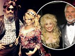 What marriage troubles? LeAnn Rimes and Eddie Cibrian put rumours of rift aside to dress up as Dolly Parton and Kenny Rogers