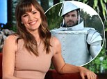 Sweet revenge! Jennifer Garner shares picture of Ben Affleck dressed as the Tin Man with Ellen's millions of viewers after he ditched her last Halloween