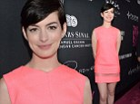 'It's 100 percent false!' Anne Hathaway denies claims that she was rude and 'demanded' fans not talk to her at cancer gala
