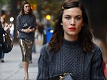 Alexa Chung puts on a brave face as she heads to a book signing amid scathing reviews of her ¿scrapbook autobiography¿