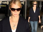 Was it worth it? Gwyneth Paltrow looks exhausted as she arrives back in LA after flying visit to London just to attend a party