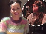 Katy Perry sends touching message to cancer-stricken teen whose Roar video goes viral... as pop star debuts at number one on album chart