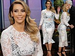 'I'm 50lbs down today!' Kim Kardashian 'so excited' as she reveals dramatic post-baby weight loss in black underwear and lace dress