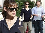 Back on mommy duty: Jennifer Garner chauffeurs kids to karate while husband Ben Affleck shoots new movie day after glamorous TV appearance