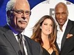 Lamar Odom's former LA Lakers coach Phil Jackson blames Kardashians for 'drug spiral'... and calls Khloe marriage an 'arrangement'