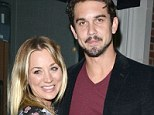 So in love: Kaley Cuoco and Ryan Sweeting in LA earlier this week
