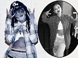 Copycat! Rihanna dresses as a 'chola' for Halloween TWO DAYS after Chris Brown's girlfriend Karreuche Tran wears almost identical costume