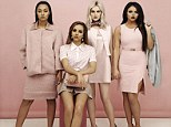 Little Mix come over all ladylike in pink on recent Legally Blond inspired shoot