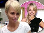 New look: Kristin Chenoweth went tight and bright on Thursday with a new pixie haircut for a film role
