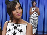 'There's nothing offensive about it': Kerry Washington dismisses lesbian rumours and insists she's 'never been bothered' by the claims